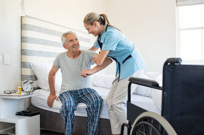 Helping Seniors with Standing, Sitting and Reclining