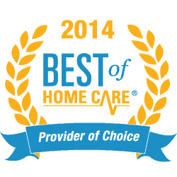 2014 Provider of Choice: Best of Homecare