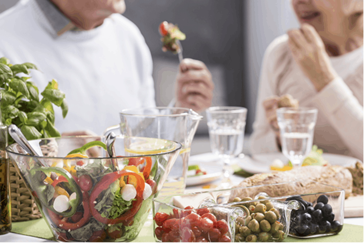 Eating Healthy as You Age | Qualicare Newmarket