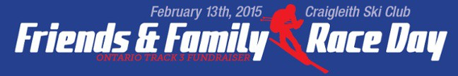 Craigleith Ski Club Friends & Family Race Day Ontario Track 3 Fundraiser