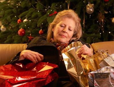 Seniors Dealing with Holiday Stress