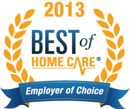2013 Employer of Choice: Best of Homecare